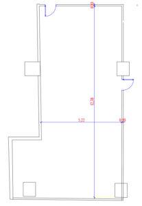 Alexandros Hall - Architecture Plan